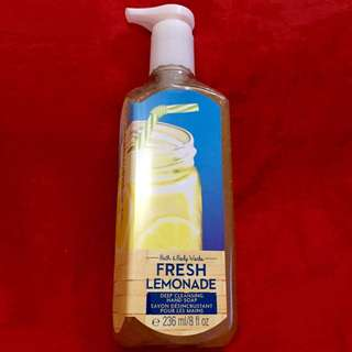 Authentic B&BW Deep Cleansing Hand Soap - Fresh Lemonade 🍋 - 236ml