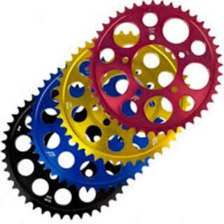 Driven colour sprocket set for Honda CB400X and NC750X