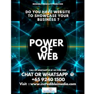 Do you have website to showcase your business ?