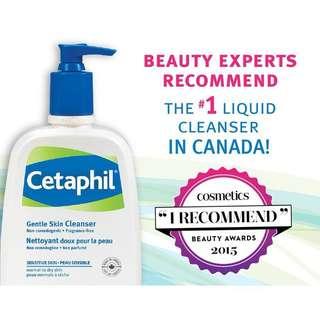 Cetaphil gentle cleanser 1L/1000ml