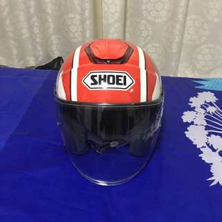 Shoei j cruise yamaha racing team (airbrush)