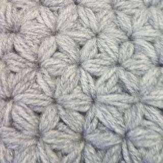 Crochet/knitted handmade phone pouch