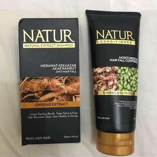 Natur Shampoo & Conditioner