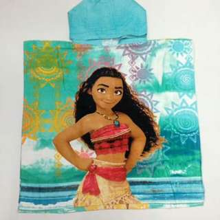 Moana Kids Hooded Towel