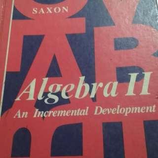 Algebra II Incremental Development