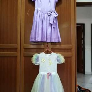 Dresses 8-10year old