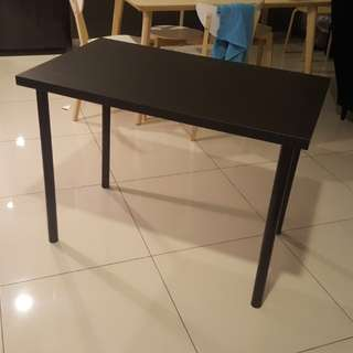 Ikea desk in black