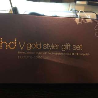GHD V Gold limited edition