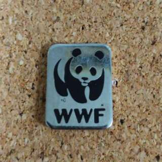 WWF panda pin badge