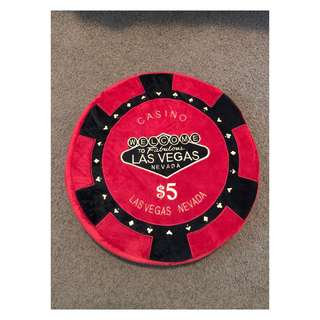 Las Vegas Chip Pillow