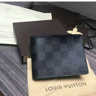 👉NBU - LV Men Wallet Damier 2014 #d