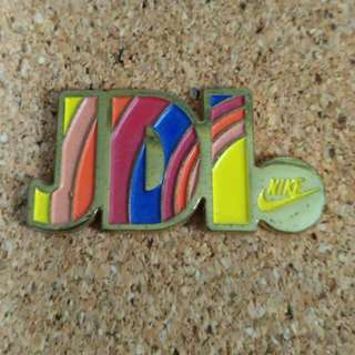 JustDoIt nike pin badge