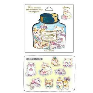 Only 1 Instock! (Mix & Match)*Jam Jelly Japan - Cat theme Stickers