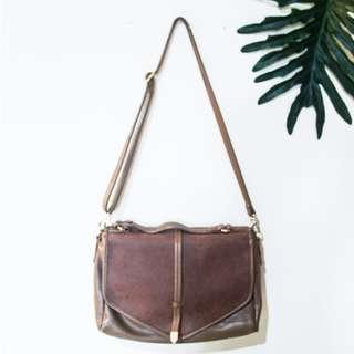 Girbaud Brown Sling Bag