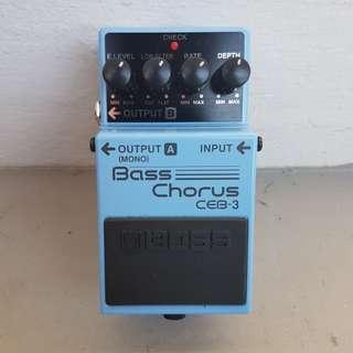 Boss - Bass Chorus CEB-3