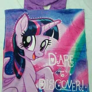 My Little Pony Kids Hooded Towel