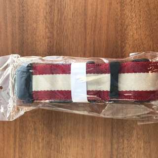Muji Luggage Belt (Red)