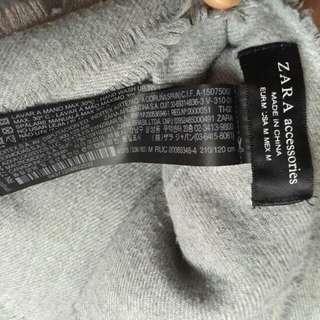 Zara winter scarf