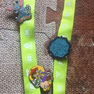 Disney pins 連帶