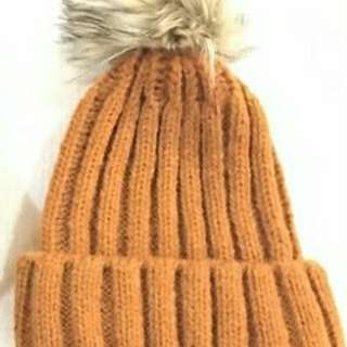 Winter Beanie Orange - Kupluk
