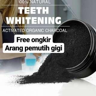 Pemutih gigi arang