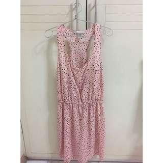 Forever 21 peach dress