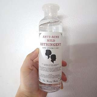 Anti acne toner