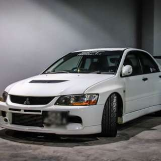 Mitsubishi Lancer Evolution IX 2.0 Manual GSR