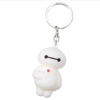 日本 Disney Store 直送大英雄聯盟 Baymax 大白 3D 立體鎖匙扣