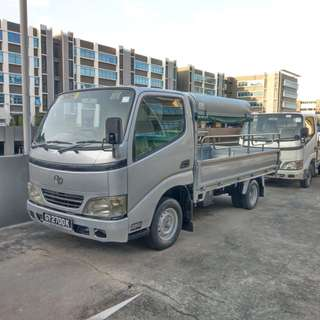 Lorry for rental