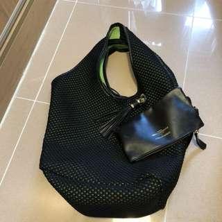 Christian villa woven bag 手提袋