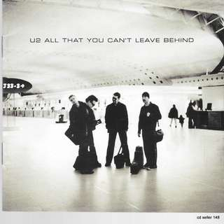 MY CD - U2 ALL THAT YOU CAN'T LEAVE BEHIND // FREE DELIVERY BY SINGPOST
