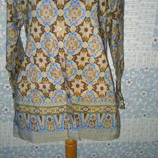 Kemeja batik preloved