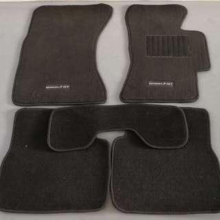 Subaru original floor mats