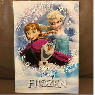 Disney Frozen 單行簿