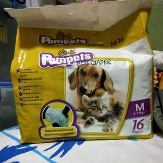 Pampets pets diapers (Pet lovers Centre)