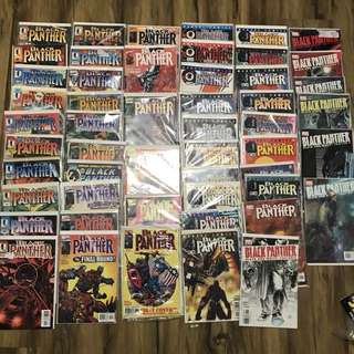 Black panther 1-55 (missing 23,25,27,28 only)