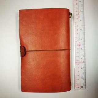 學校紀念品: 仿皮記事簿 記事本 Notebook (brand new)