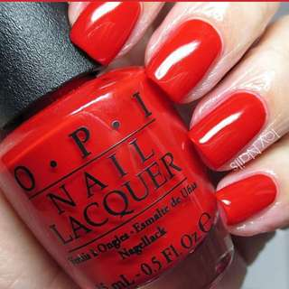 Opi Big Apple Red N25