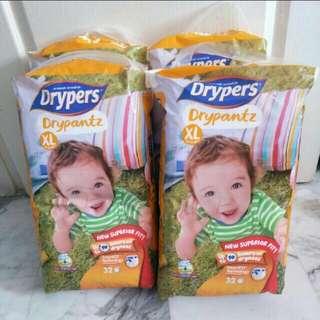 Drypers Drypantz XL