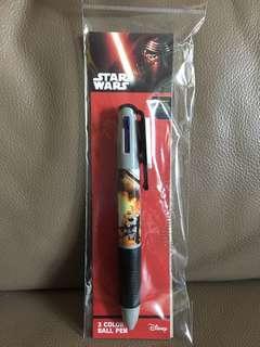 Star Wars 3 colour pen 三色筆 (兩個款)