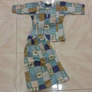 Baju Kurung Kanak2 1-2 Tahun (Saiz 1)