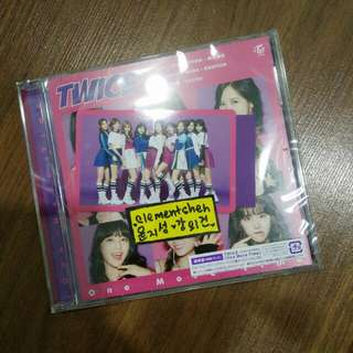 Twice One More Time Single Album
