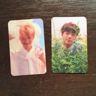 BTS Love Yourself 'Her' photocards (replica)