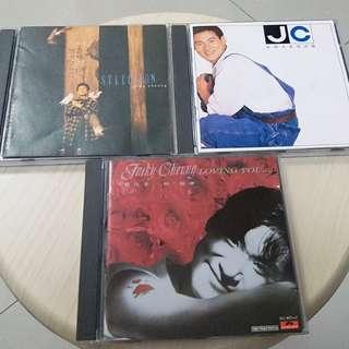 張學友 CD 3隻。