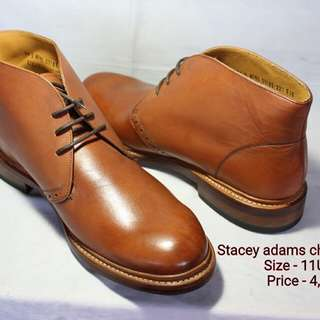 Stacey adams authentic mens leather shoes