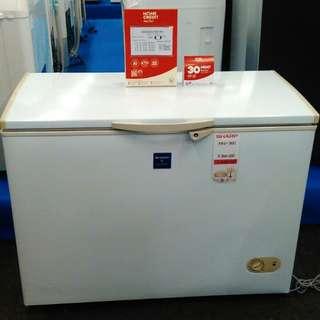 Freezer Sharp FRV-300 kredit tanpa DP