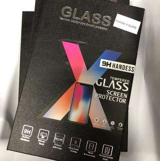 IPHONE X GLASS SCREEN PROTECTOR 9H 螢幕保護貼
