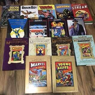 Classic comics hardcovers HC
