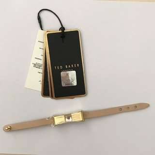 Ted Baker Blush Leather Bracelet